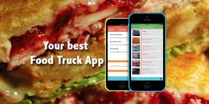 The FoodWheelin' App for iOS.
