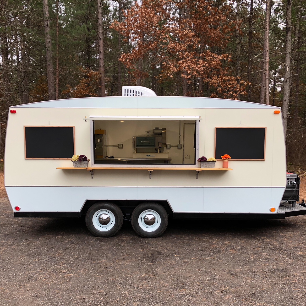 camper food trailer