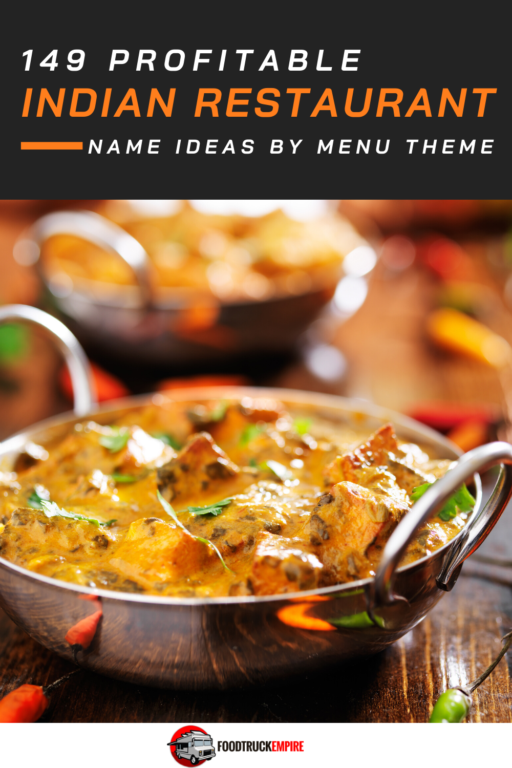 149 Profitable Indian Restaurant Name Ideas By Menu Theme