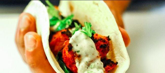 Indian Inspired Taco by Tikka Tikka Taco