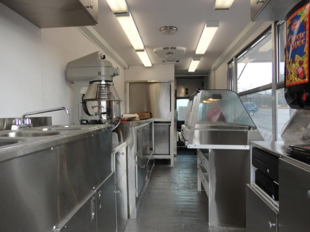 interior of truck
