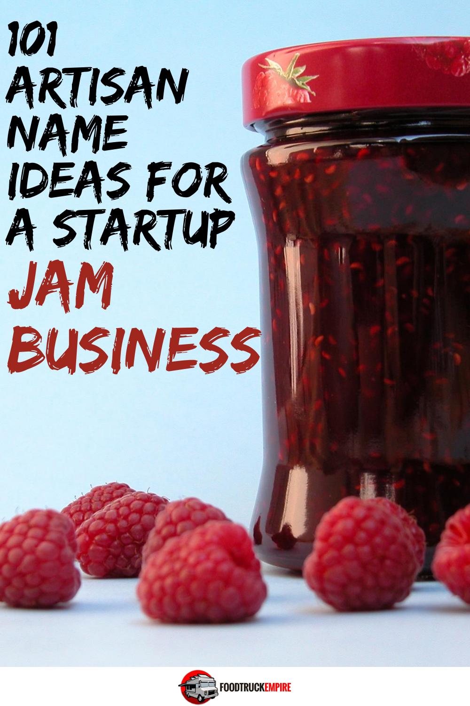 jam business name ideas