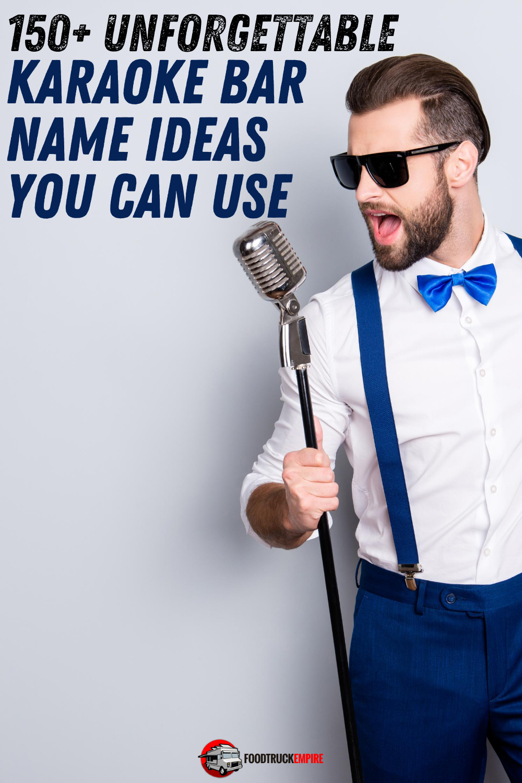 karaoke bar name ideas