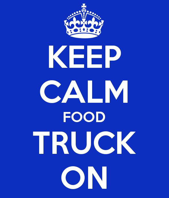 keep calm, truck on