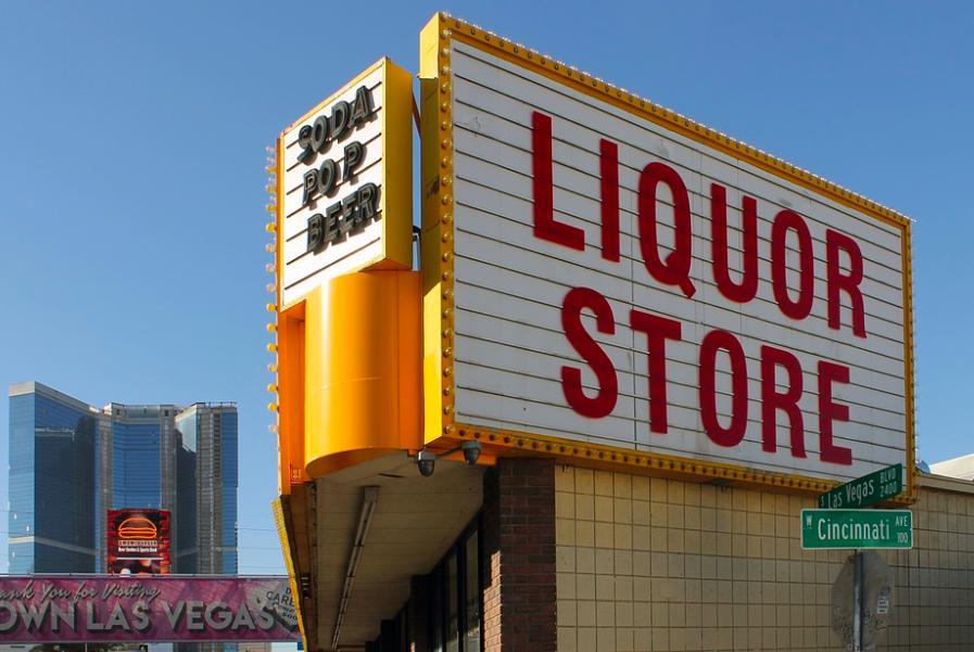 Las Vegas liquor store