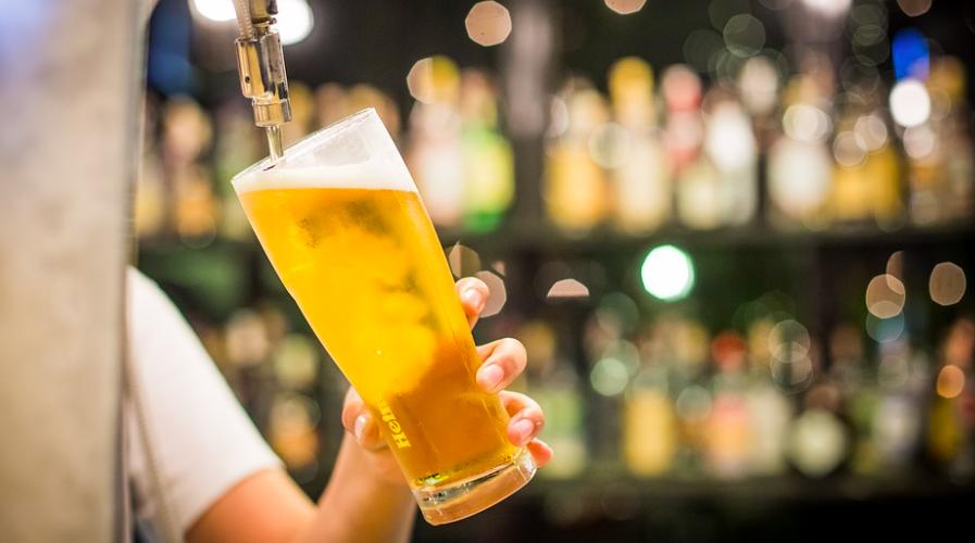light beer tap