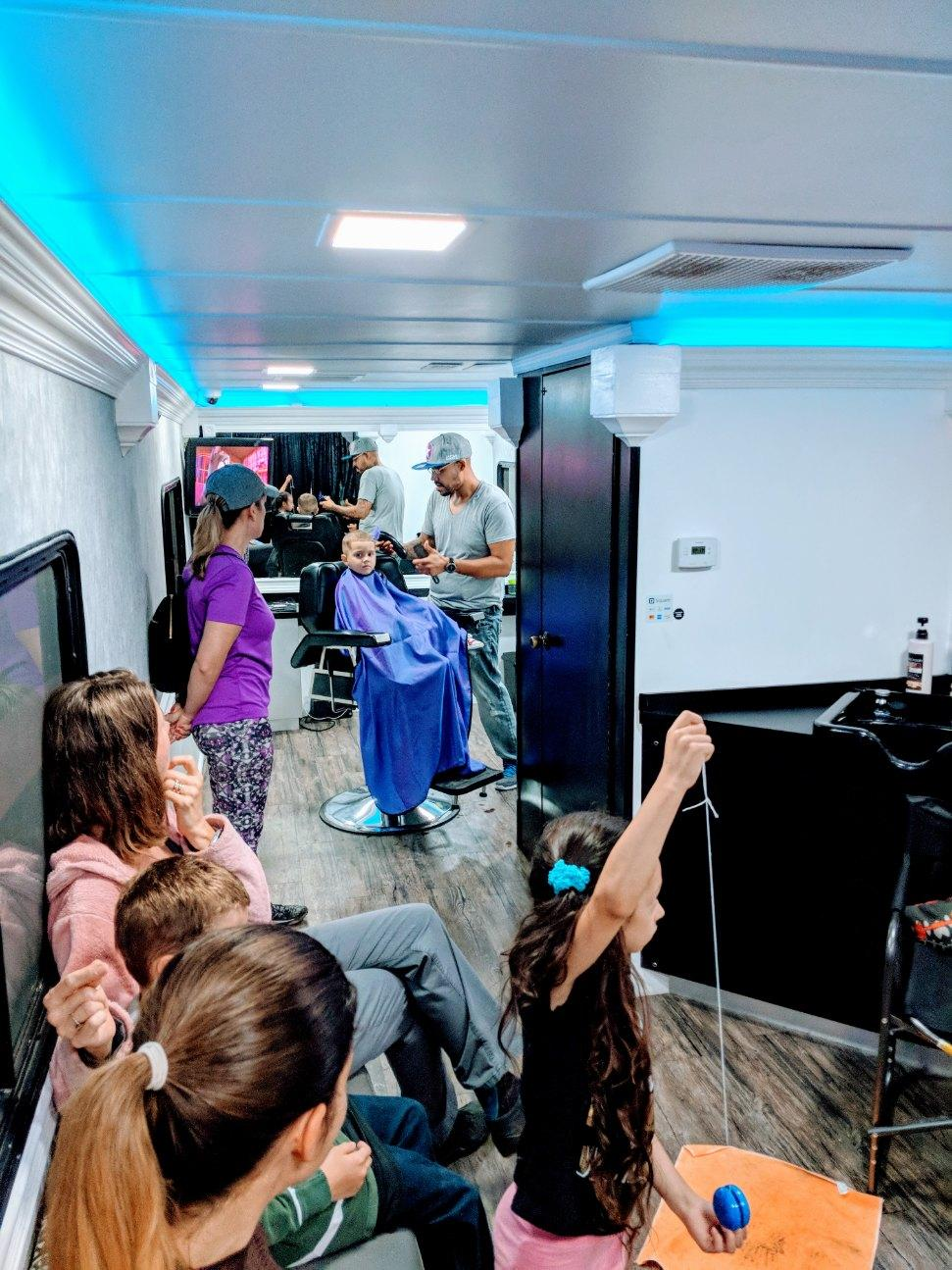 mobile salon customers
