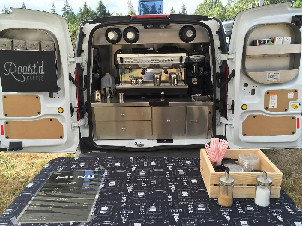 2016 Ford Transit Connect Coffee Van Under 500 Miles
