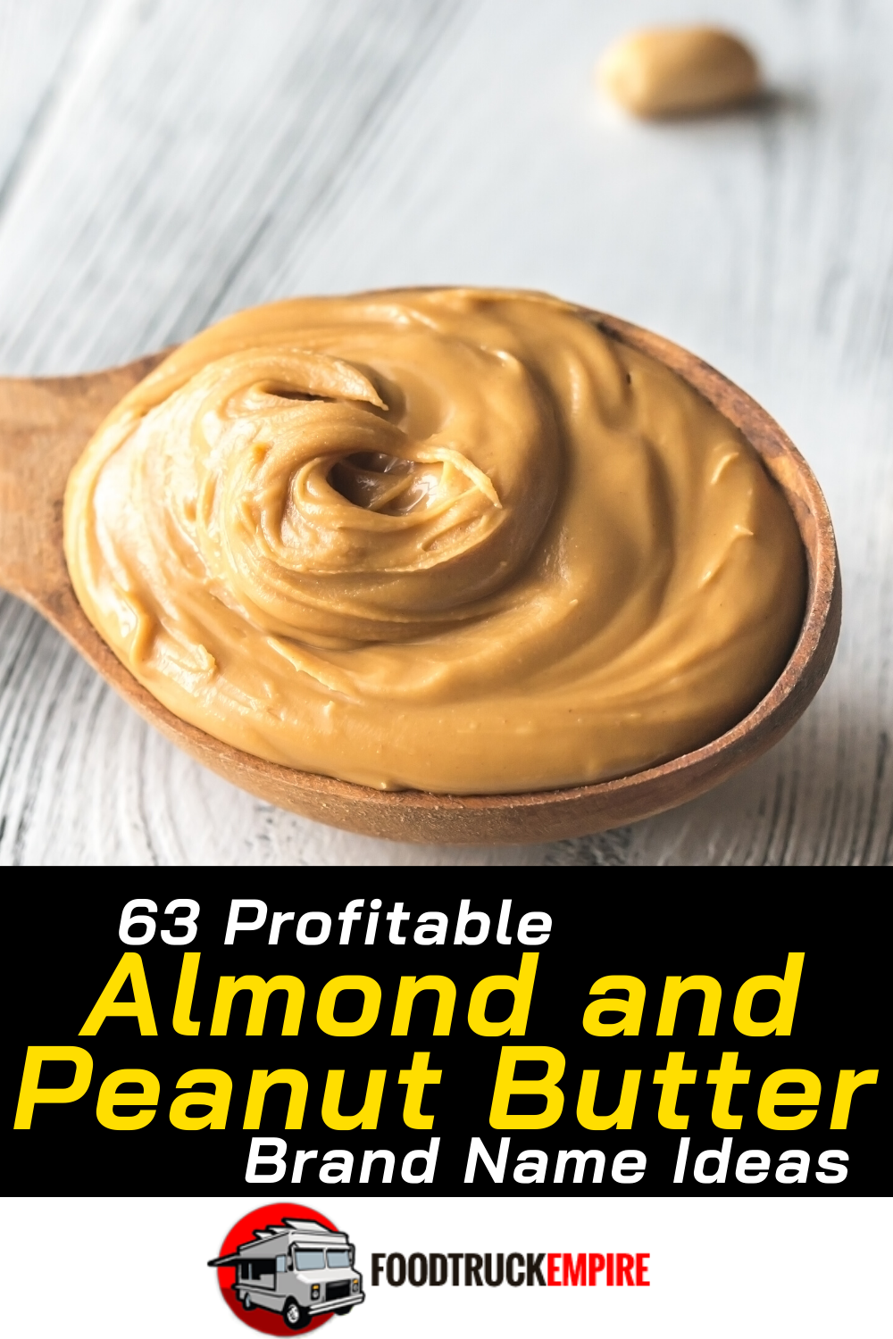 63 Profitable Peanut Butter Name Ideas