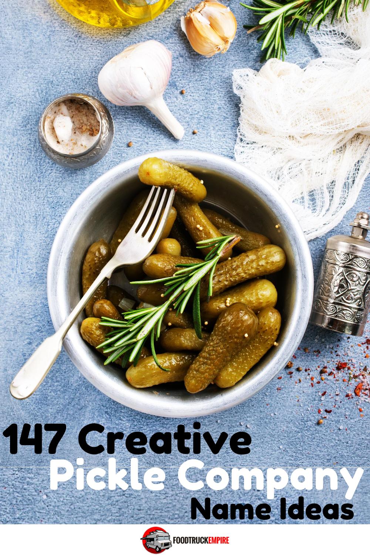 pickle company name ideas