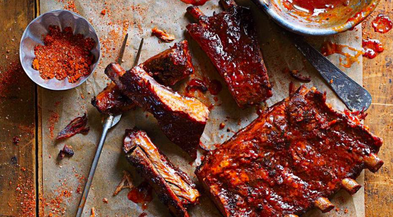 ribs and spices
