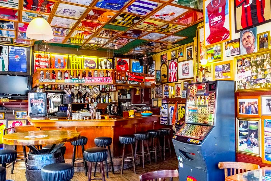 soccer sports bar