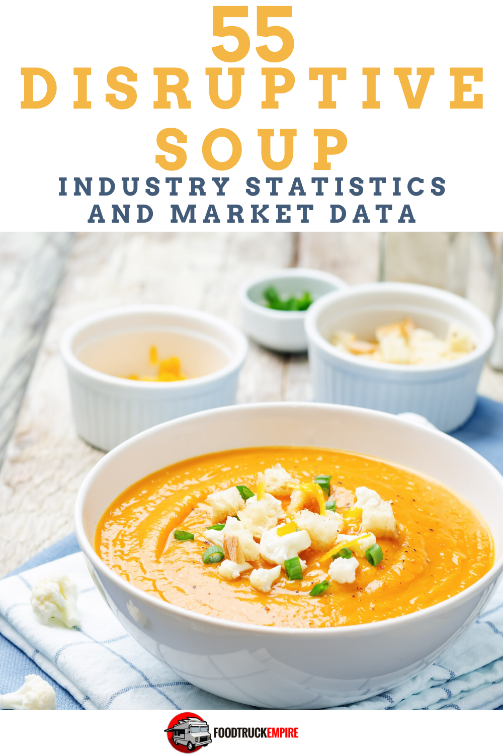 55 Disruptive Soup Industry Statistics and Market Data