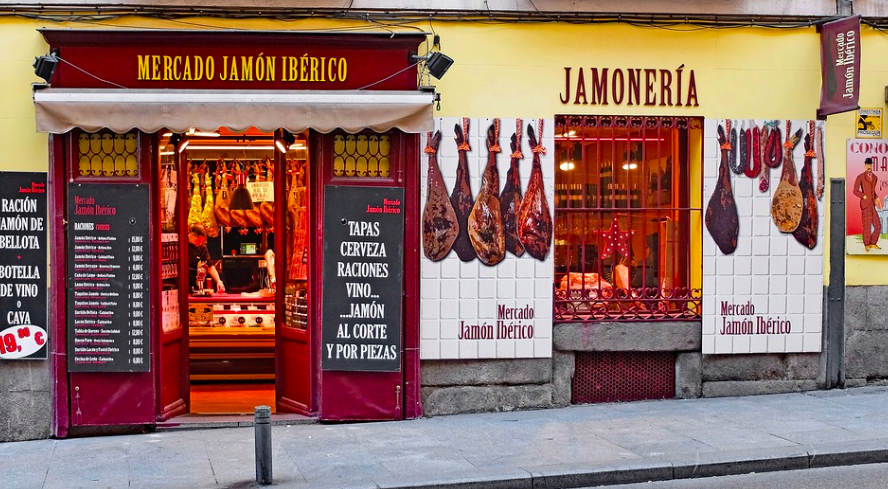 spanish butcher shop