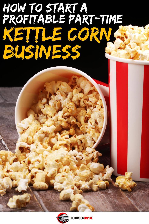 start a kettle corn business
