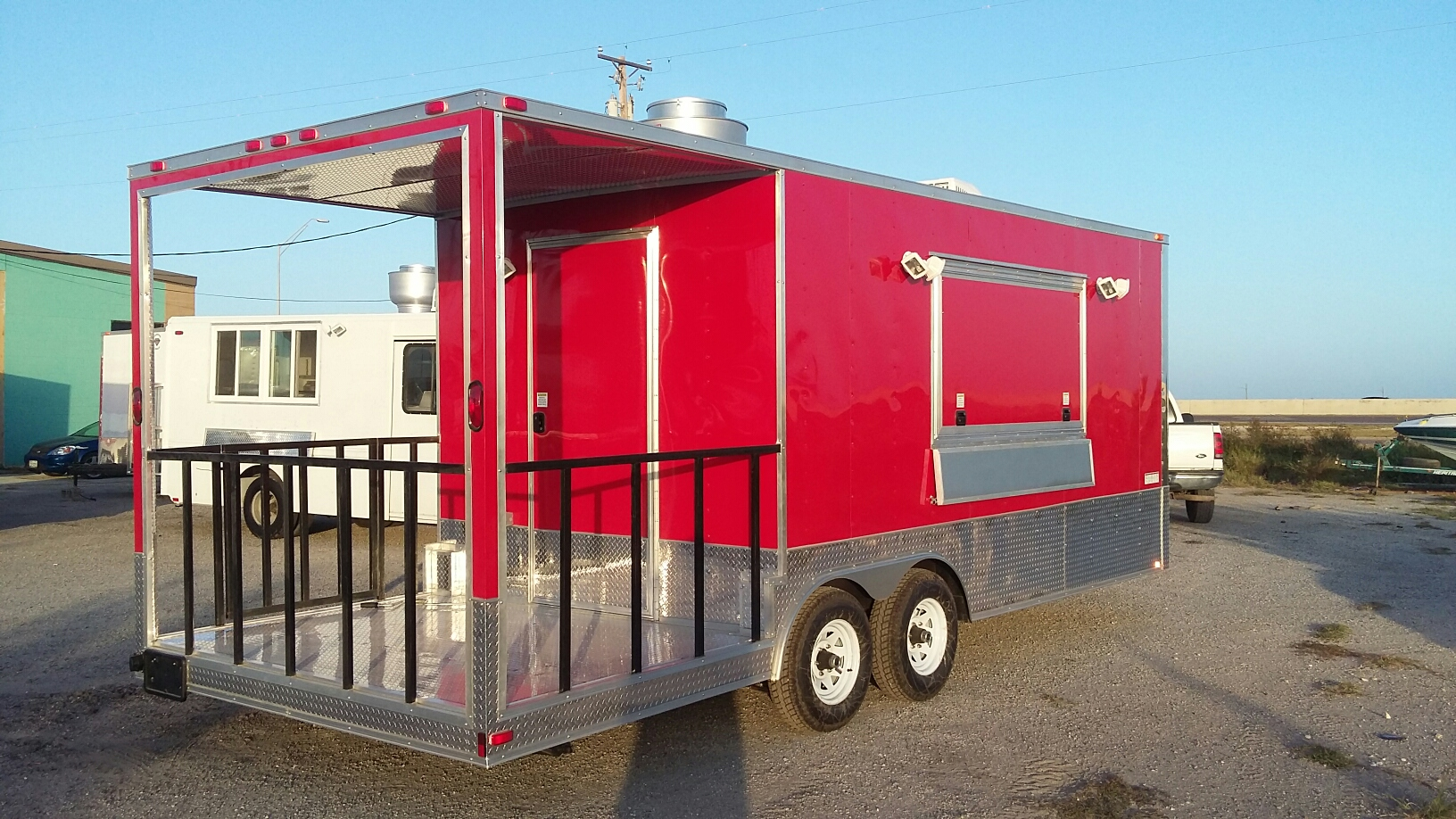 2016 diamond cargo food trailer for sale in tyler texas. Black Bedroom Furniture Sets. Home Design Ideas