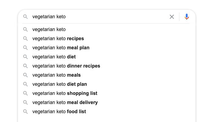 vegetarian topics